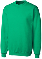 Clique Kelly Green Fleece Crewneck Pullover
