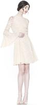 Alice + Olivia Enya Embroidered Dress