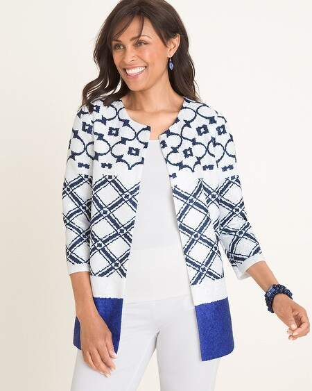 f8a0383052 Travelers Collection Printed Crushed Jacket