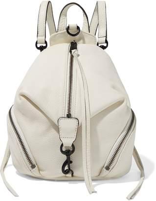 Rebecca Minkoff Julian Mini Convertible Pebbled-leather Backpack