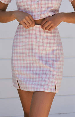 Cara John Galt Plaid Skirt
