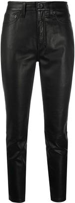 Rag & Bone Mid-Rise Slim-Fit Trousers