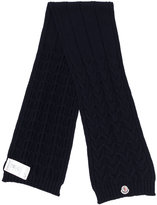 Moncler cable knit scarf