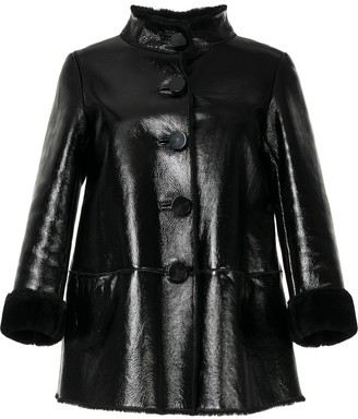 Moschino Pre-Owned Funnel-Neck Jacket