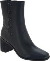 Logo By Lori Goldstein Lori Goldstein Collection Mid Shaft Stacked Heel Boot