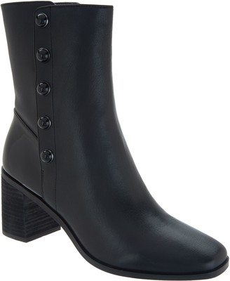 Logo by Lori Goldstein Lori Goldstein Collection Mid Shaft Stacked Heel Boot
