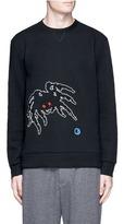 Lanvin 'Groovin Spider' embroidered sweatshirt