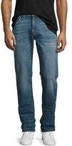 True Religion Geno Straight-Leg Denim Jeans, Blue