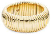 R.J. Graziano Goldtone Dome Bangle Bracelet