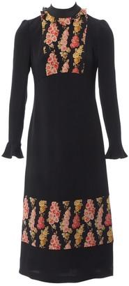 Vilshenko Black Synthetic Dresses