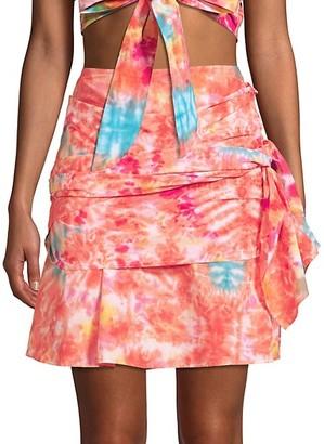 All Things Mochi Mabel Tie-Dye Wrap Skirt