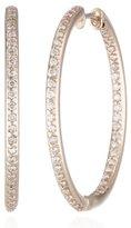"KC Designs Eternity Hoops"" 14k Rose Gold Inside-Out Hoop Earrings"