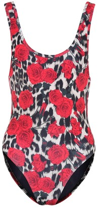 Beth Richards Tank printed swimsuit