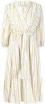 Forte Forte striped belted dress