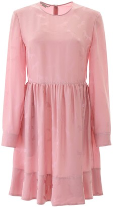 Stella McCartney Long Sleeve Gathered Dress