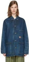 Chimala Indigo Denim Work Chore Jacket