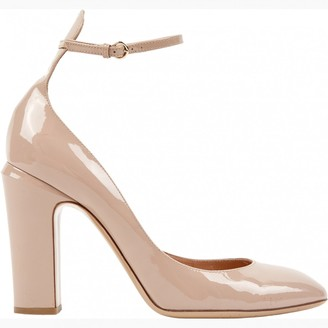 Valentino Tango Beige Patent leather Heels