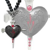 Heart of Darkness Pendant by Alchemy Gothic, England
