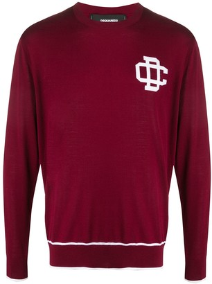 DSQUARED2 Crew Neck Logo Jumper