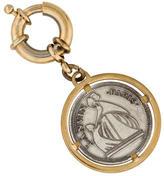 Lanvin Metallic Logo Keychain