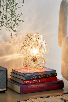 Urban Outfitters Confetti Glass Table Lamp