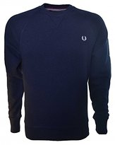 Fred Perry Men's Loopback Crew Sweat