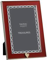 "Wedgwood Treasures Heart Frame (4"" x 6""), Red"