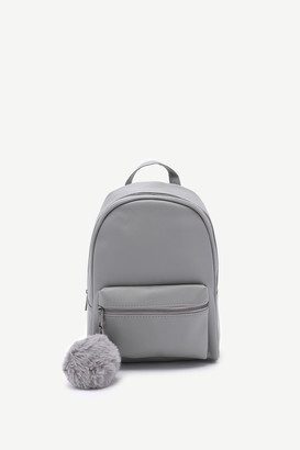 Ardene Pompom Backpack