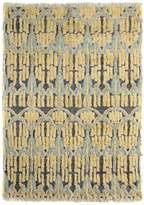Arshs' Fine Rugs Modern Arya Rosaline Hand-Knotted Moroccan Wool Rug
