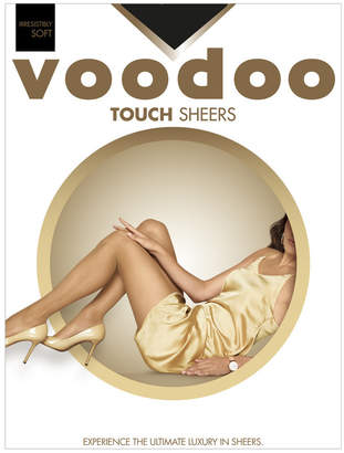 Voodoo Touch Sheers H30490 Black Ave-Tall