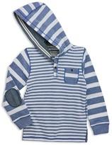 Sovereign Code Boys' Striped Piqué Hoodie - Big Kid