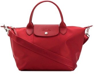 Longchamp Le Pliage constrast-panel bag