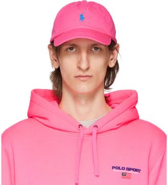Polo Ralph Lauren Pink Chino Ball Cap