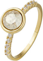Accessorize Simple Pave Ring With Swarovski® Crystals