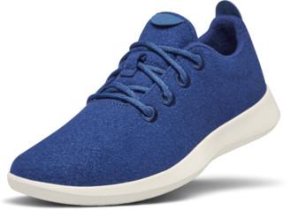 Allbirds Men's Wool Runners - Blueberry (Cream Sole)