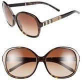Burberry Women's 58Mm Sunglasses - Havana