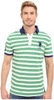 U.S. Polo Assn. Slim Fit Shadow Stripe Polo Shirt