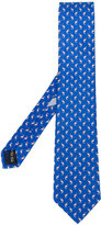 Salvatore Ferragamo dolphin detail tie - men - Silk - One Size