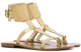 Ginnie Ankle Cuff Sandal in Nude