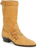 Chloé Women's 'Susanna' Buckle Strap Mid Calf Boot