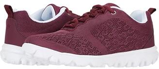 Propet TravelActiv (Cranberry) Women's Shoes