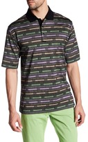 Bugatchi Short Sleeve Regular Fit Polo