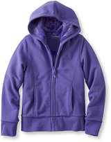 L.L. Bean Girls' Fleece-Lined Camp Sweatshirt Hoodie