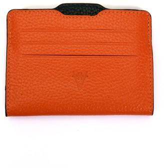 Hiva Atelier Double Card Holder Orange & Black