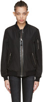 Mackage Black Verena Bomber Jacket