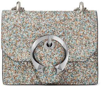 Jimmy Choo mini Paris glitter crossbody bag