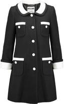 Moschino Cotton-blend bouclé coat