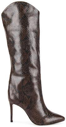 Schutz Maryana Snake Boot