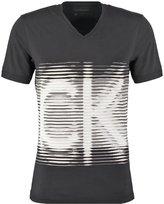 Calvin Klein Jeans Slim Fit Print Tshirt Black