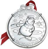 Mikasa Wallace® 2016 Silver Plated Snowman Ornament, 5th Edition
